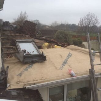Extension Roof Repair